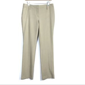Ann Taylor Tan Straight Leg Dress Pants Size 8